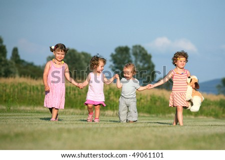 Great friends - stock photo