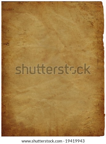 great image of some old parchment paper