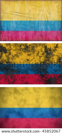 Great Image of the Flag of Colombia
