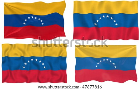Great Image of the Flag of venezuela