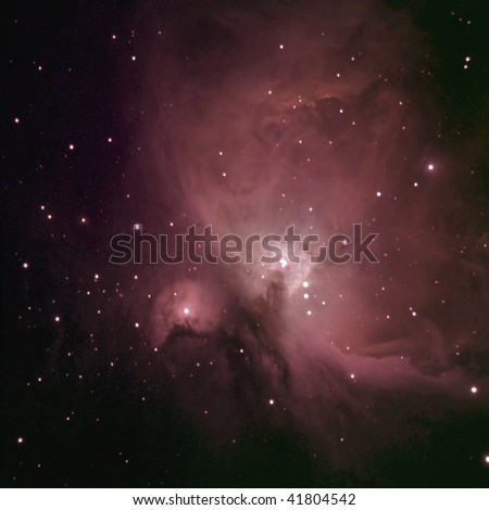 Great Nebula in Orion - stock photo
