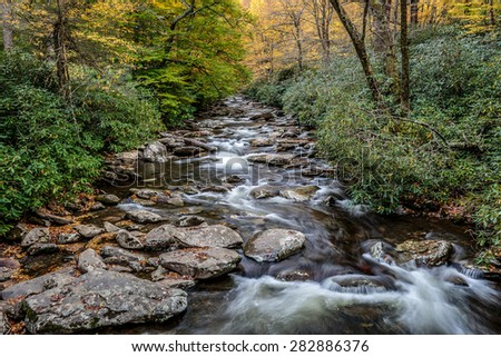 Great Smoky Mountains National Park - Alum Cave Creek - vacation getaway destination - Gatlinburg Pigeon Forge TN NC