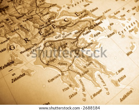 greece - stock photo