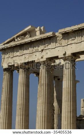Greece, Athens, Parthenon - stock photo