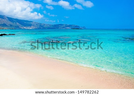 greece beach  - stock photo