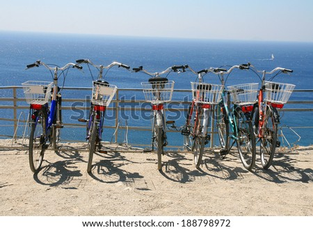 Greece, Kos, bicycles