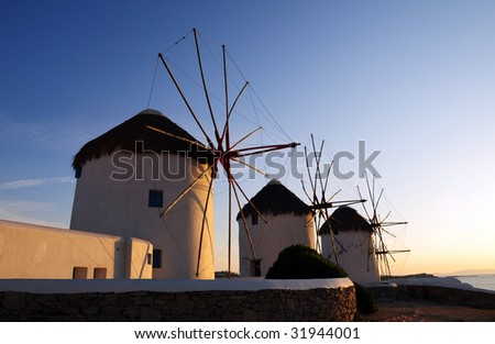 Greece Landmarks - stock photo