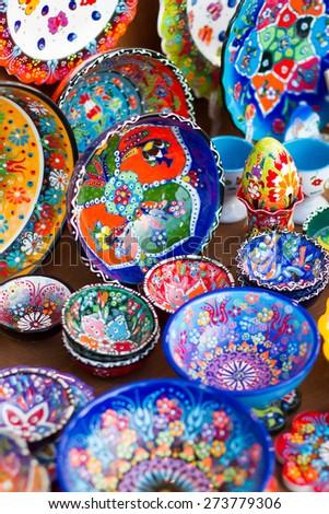 Greek ceramics - stock photo