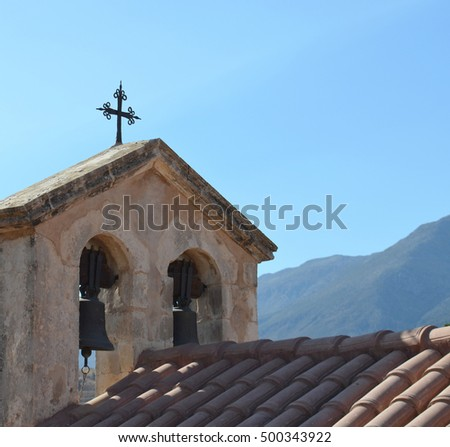 Greek Church Roof Details