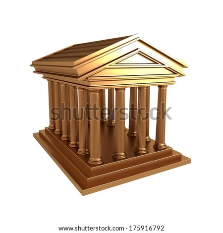 Greek,Roman Temple Gold