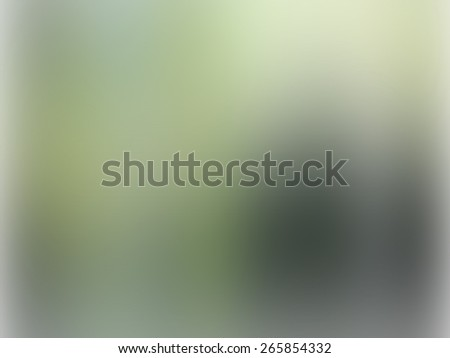 green abstract background with gradient blur - stock photo