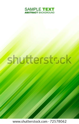 Green abstract background with place for text - stock photo