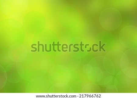 green abstract light background  - stock photo