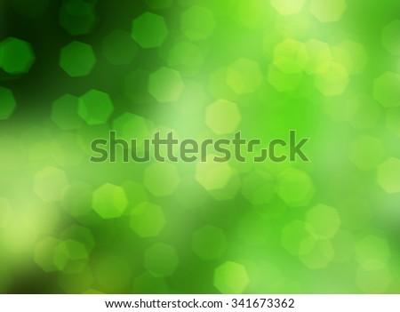 green abstract nature blur background and wallpaper - stock photo