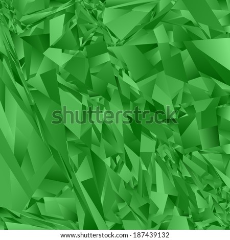 Green abstract rectangle pattern background - jpeg version - stock photo