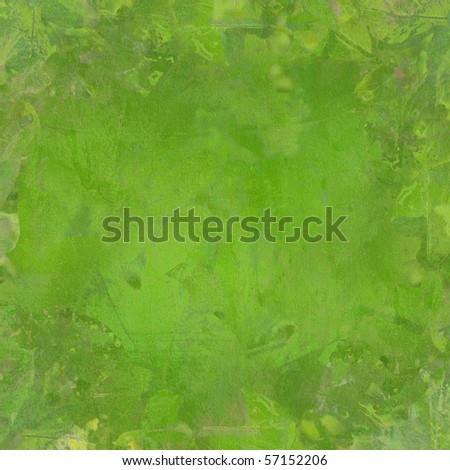Green Abstract Textured Background - stock photo