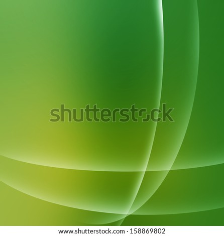 green abstract vista background