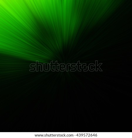 Green Abstract Zoom Motion background