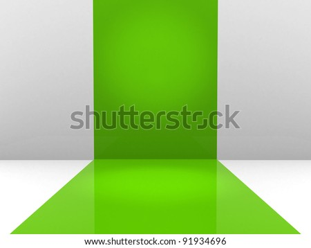 green abstraction for your designs - stock photo