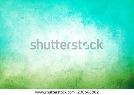 green and blue grunge background or texture