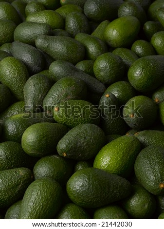 green and fresh avocados texture