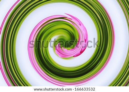green and pink swirl background  - stock photo