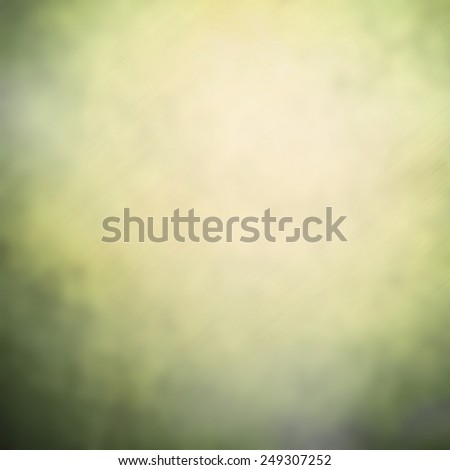 Green and yellow blurry abstract background with magic lights - stock photo