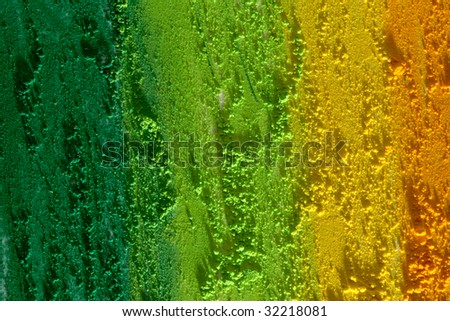 green and yellow texture - stock photo