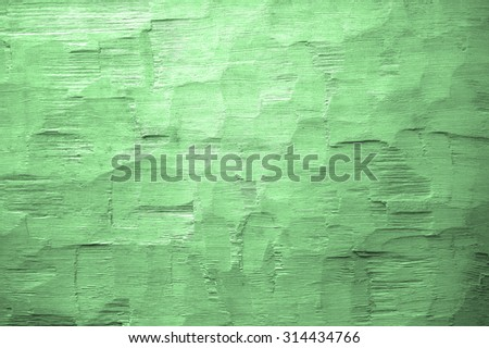 green axe hewn background - stock photo