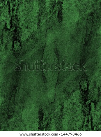 green background , abstract , art , canvas painting - stock photo