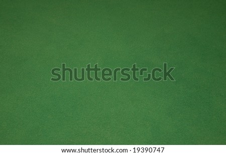 Green background from casino cloth from table
