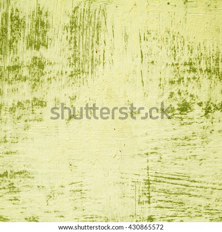 green background rusty metal panel painted