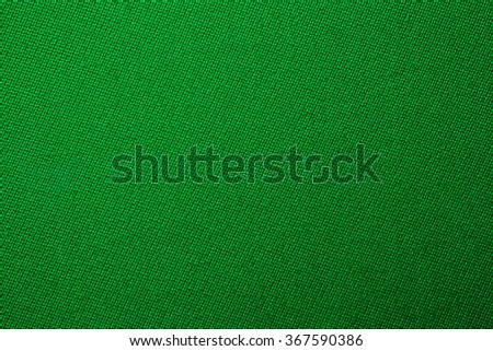 green biliard cloth color texture close up - stock photo