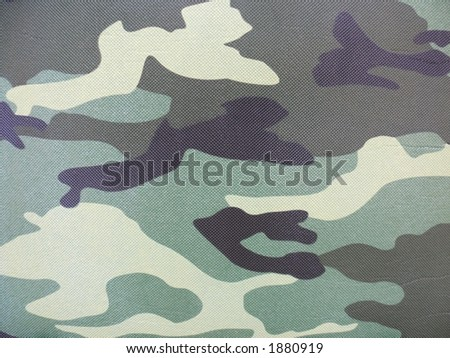 green, black, grey, yellow camouflage pattern - stock photo
