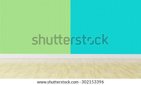 Green blue pastel color Interior background gives soothing effect, perfect combination for master bedroom