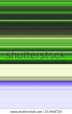 Green, Blue Striped Background  - stock photo