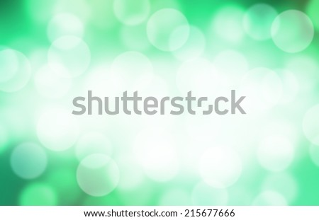 Green blurred background. Defocused green abstract background.