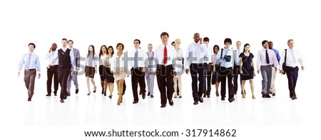 Green Business Businessman Team Teamwork Concept