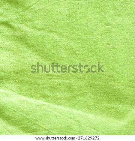 Green Canvas Background./ Green Canvas Background - stock photo