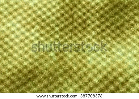 Green canvas texture background.