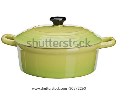 green casserole - stock photo