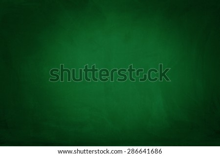 Green chalkboard - stock photo