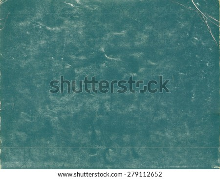 Green chalkboard texture - stock photo