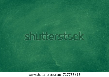 green chalkboard texture for school display backdrop chalk traces erased with copy space for add