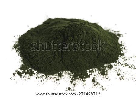 Green chlorella - stock photo