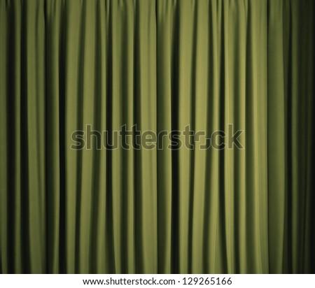 Green cloth - stock photo