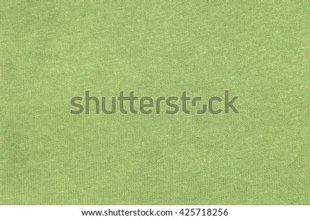 green cloth background texture - stock photo
