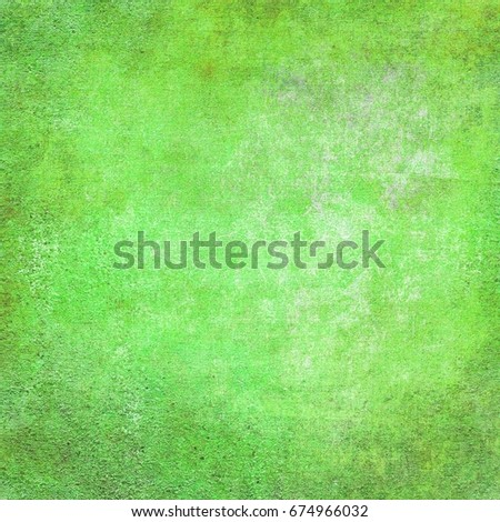Green colorful background. Beautiful texture of paper. Universal design.
