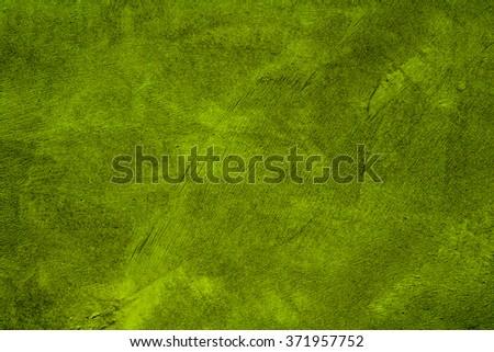 green concrete wall texture - stock photo