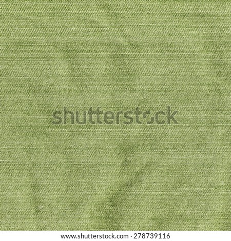 green denim texture. Useful as background - stock photo